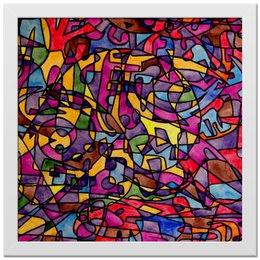 "Холст 30x30 ""rrg`90`90=-="" - арт, узор, абстракция, фигуры, текстура"