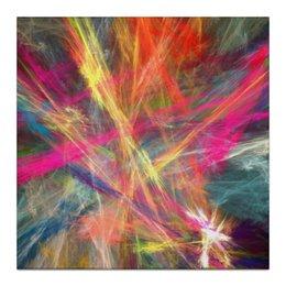 "Холст 30x30 ""Абстрактный дизайн"" - абстракция, графика, авангард, лучи, линии"