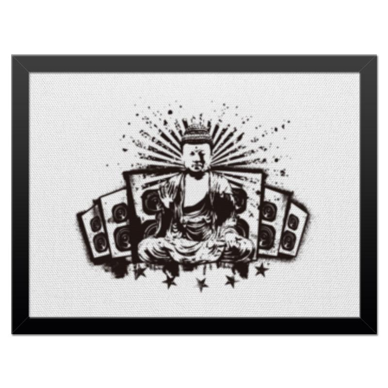 Холст 30x40 Printio Будда (акустика) платье без рукавов printio будда акустика