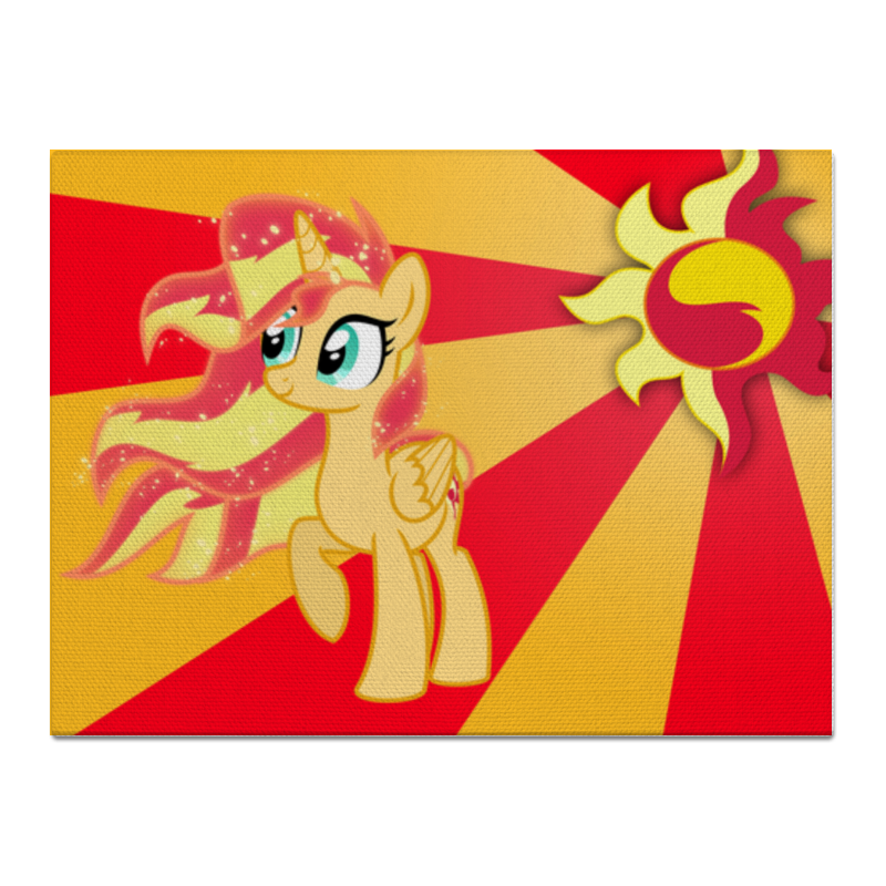 Холст 30x40 Printio Sunset shimmer color line холст 30x30 printio sunset shimmer color line