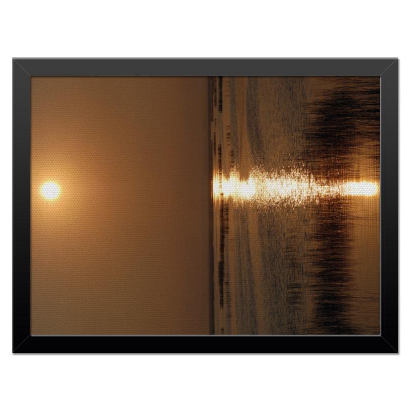 Холст 30x40 Printio Восход восход солнца