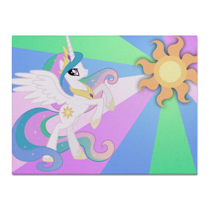 Холст 30x40 Printio Princess celestia color line холст 30x30 printio princess celestia color line
