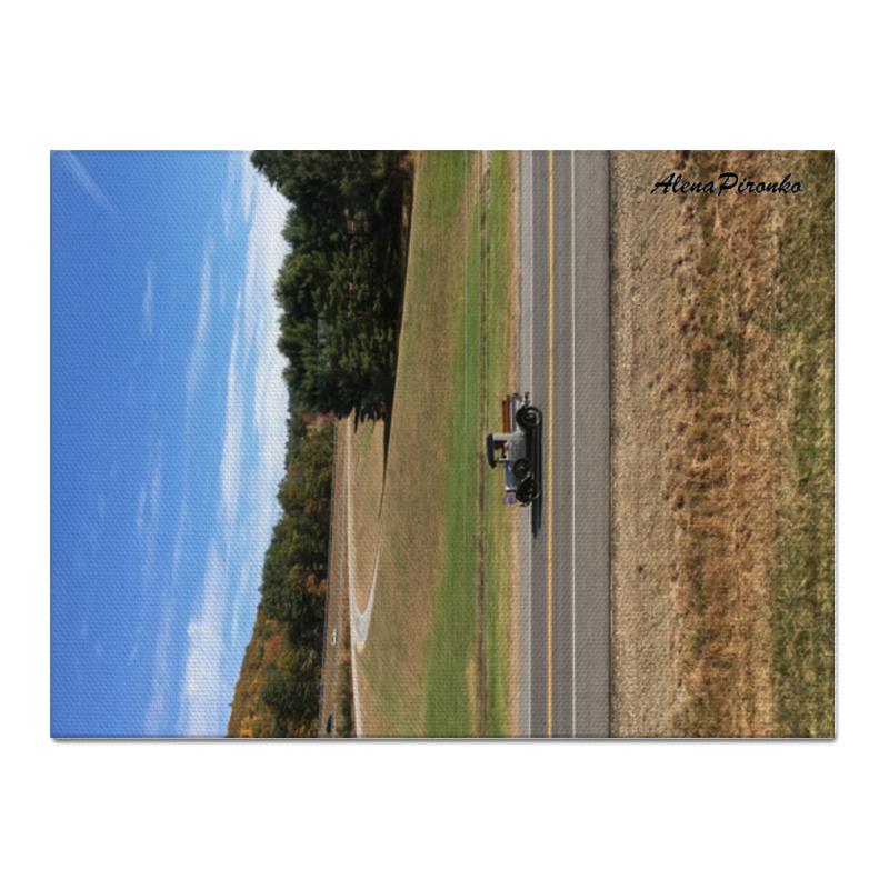 Холст 30x40 Printio Ретро-авто [супермаркет] джингдонг йонаго домашнего интерьера аксессуаров для дома фото рамки фото рамки качелей наборов тройного стенда