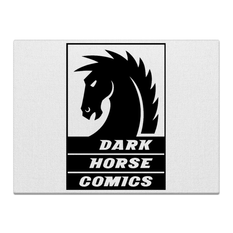 Холст 30x40 Printio Dark horse comics часы круглые из пластика printio dark horse comics