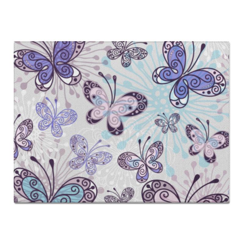 Холст 30x40 Printio Фиолетовые бабочки холст 30x40 printio риджбек