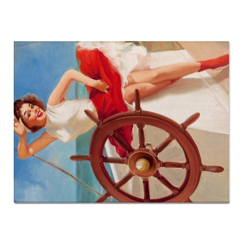 Холст 30x40 Printio Бон вояж юбка трикотажная barkito бон вояж красная