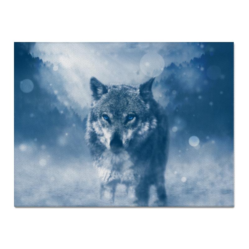 Холст 30x40 Printio Волк с голубыми глазами холст 20х30 printio волк с голубыми глазами