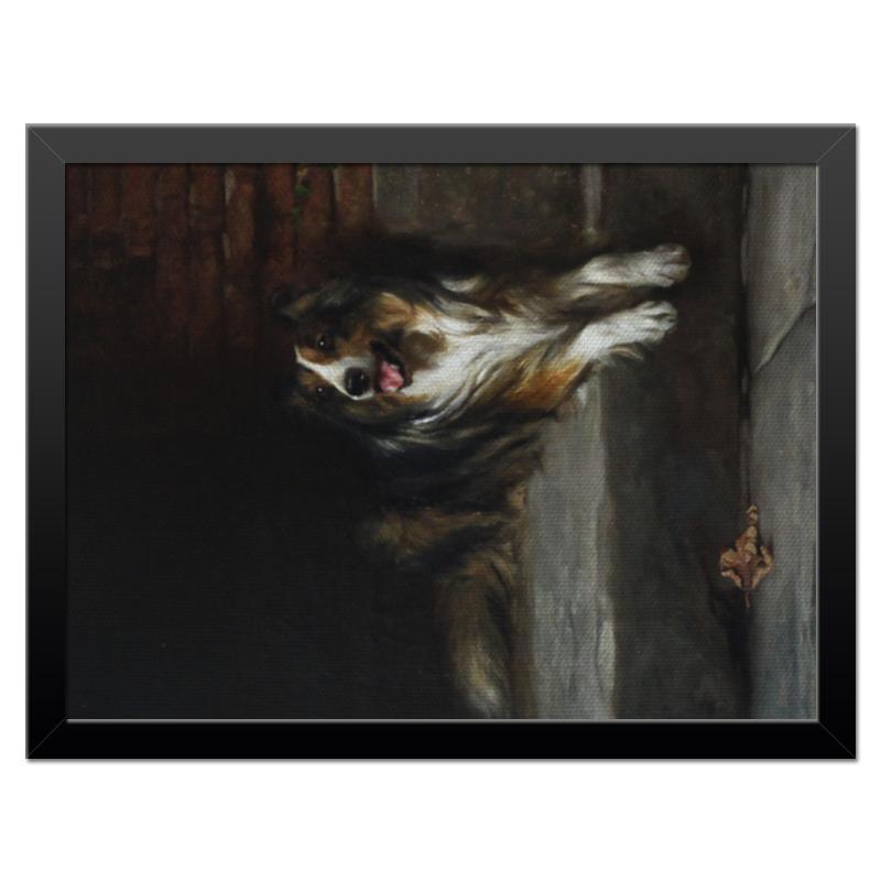 Холст 30x40 Printio 2018 год собаки репродукция ржавый рассвет 500х700мм холст