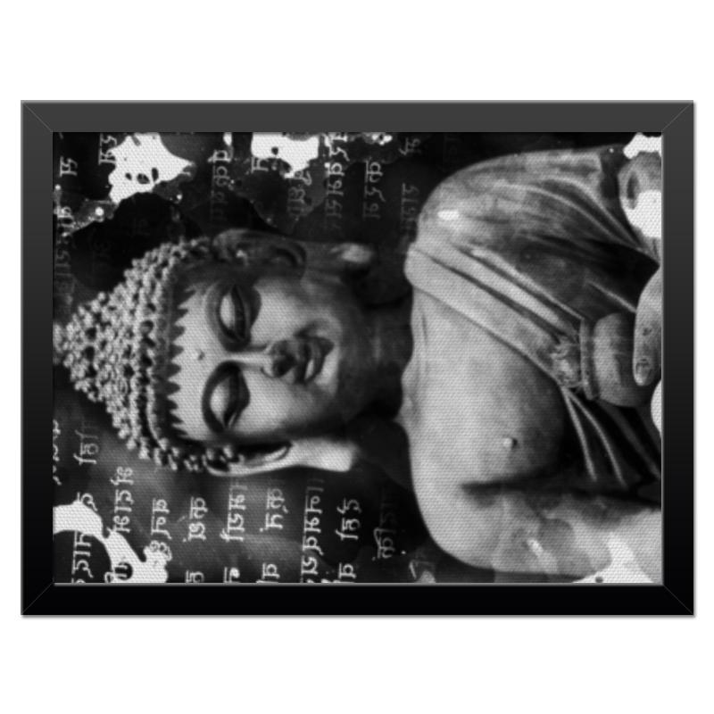 Холст 30x40 Printio Будда (письмена) коробка для футболок printio будда письмена