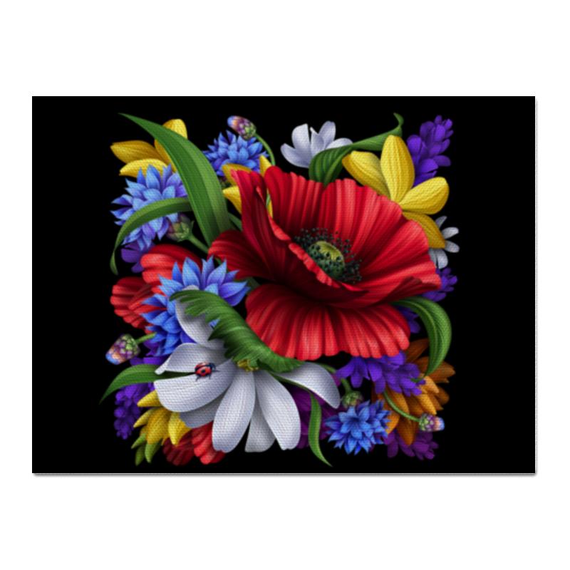 Холст 30x40 Printio Композиция цветов свадебная композиция