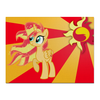 "Холст 30x40 ""Sunset Shimmer Color Line"" - sun, cutiemark, sunset shimmer"