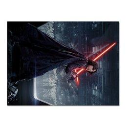 "Холст 30x40 ""Звездные войны - Кайло Рен"" - звездные войны, фантастика, дарт вейдер, кино, star wars"