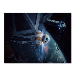 "Холст 30x40 ""Star Wars"" - star wars, звездные воины, джедай, фантастика, империя"