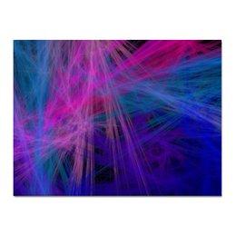 "Холст 30x40 ""Абстрактный дизайн"" - графика, абстракция, линии, лучи, авангард"