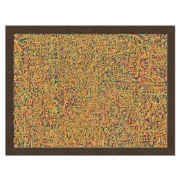 """Холст 30x40 """"Сандал"""" - арт, узор, абстракция, фигуры, текстура"""