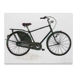 """Холст 30x40 """"Велосипед"""" - велосипед, bike, ситибайк, roadster"""