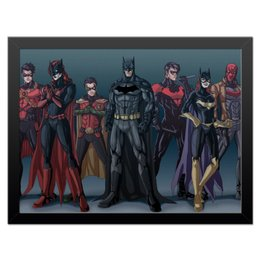 "Холст 30x40 ""Batman/Бэтмен"" - comics, комиксы, batman, justice league"