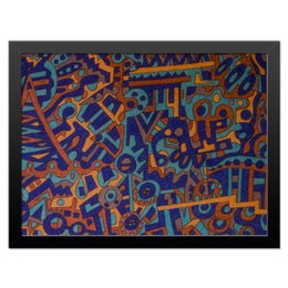 "Холст 30x40 ""y7t6ggjlla11zzz"" - арт, узор, абстракция, фигуры, текстура"