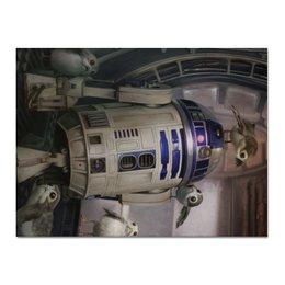 "Холст 30x40 ""Звездные войны - R2-D2"" - звездные войны, фантастика, кино, дарт вейдер, star wars"