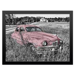 "Холст 30x40 ""Раритет 1"" - автомобиль, машина, car, пейзаж, раритет"