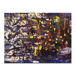 """Холст 30x40 """"Rain in the city"""" - арт, картина, абстракция, современное искусство, art, дождь"""