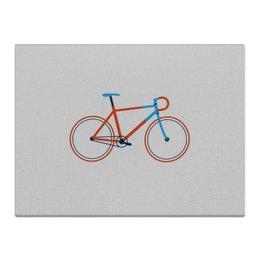 """Холст 30x40 """"Велосипед """" - велосипед, bicycle"""