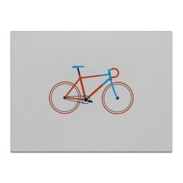 "Холст 30x40 ""Велосипед "" - bicycle, велосипед"