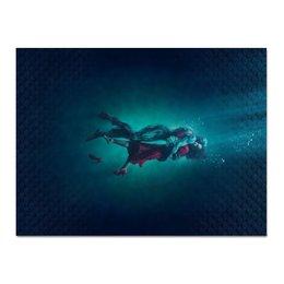 """Холст 30x40 """"Форма воды"""" - форма воды, кино, оскар, любовь, фэнтези"""