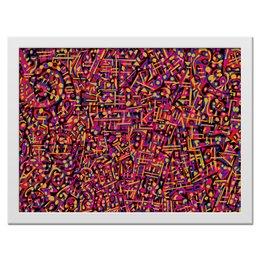 "Холст 30x40 ""Карамель."" - арт, узор, абстракция, фигуры, текстура"