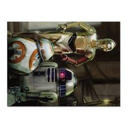 "Холст 30x40 ""Star Wars"" - star wars, фантастика, звездные войны, дарт вейдер, кино"