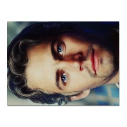"Холст 30x40 ""Пол Уокер Paul Walker"" - форсаж, актер, пол уокер, paul walker, брайн оконнер"