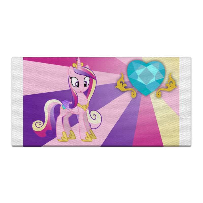 Холст 30x60 Printio Princess cadence color line холст 30x60 printio веселая коллекция разноцветных пончиков