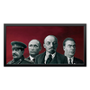 "Холст 30x60 ""Красная Площадь"" - путин, брежнев, сталин, вожди"