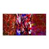 """Холст 30x60 """"3 в 1"""" - рисунок, картина, абстракция, яркие краски"""