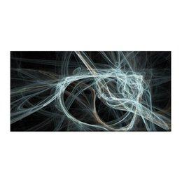 """Холст 30x60 """"Абстрактный дизайн"""" - абстракция, фигуры, фрактал, лучи, линии"""