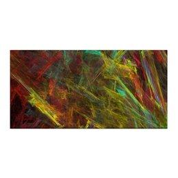 "Холст 30x60 ""Абстрактный дизайн"" - графика, абстракция, авангард, лучи, линии"