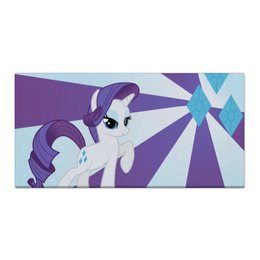 "Холст 30x60 ""Rarity Color Line"" - magic, fim, rarity, cutiemark, friendship"