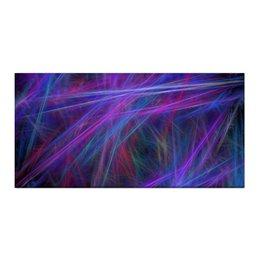 "Холст 30x60 ""Абстрактный дизайн"" - графика, абстракция, авангард, линии, лучи"