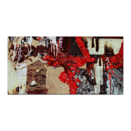 """Холст 30x60 """"Decay"""" - арт, стиль, популярные, рисунок, прикольные, в подарок, оригинально, креативно, выделись из толпы"""