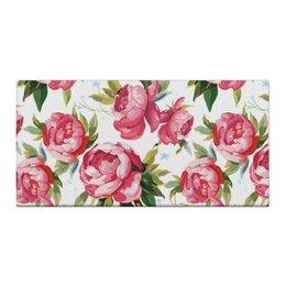 """Холст 30x60 """"Пионы"""" - цветы, природа, пионы, розы"""