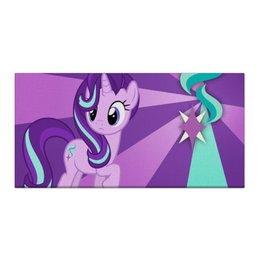 """Холст 30x60 """"Starlight Glimmer Color Live"""" - magic, fim, cutiemark, friendship, starlight glimmer"""