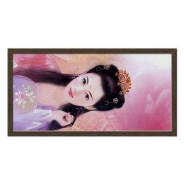 """Холст 30x60 """"Страна лотосов"""" - арт, japan, red treasure to be found"""