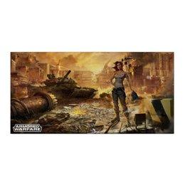 """Холст 30x60 """"Armored Warfare"""" - игра, game, танки, aw, armored warfare"""
