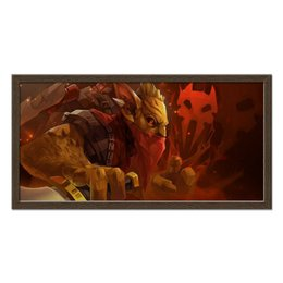 "Холст 30x60 ""Dota 2 - Blood Gondar"" - dota 2, дота, gondar, dota 2 gondar, гондар"