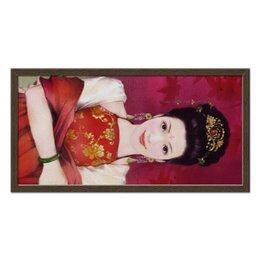 """Холст 30x60 """"Красные клены"""" - арт, japan, red treasure to be found"""
