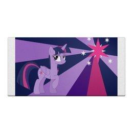 "Холст 30x60 ""Twilight Sparkle Color Line"" - twilight sparkle, cutiemark, princess"