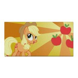 "Холст 30x60 ""AppleJack Color Line"" - magic, fim, applejack, cutiemark, friendship"