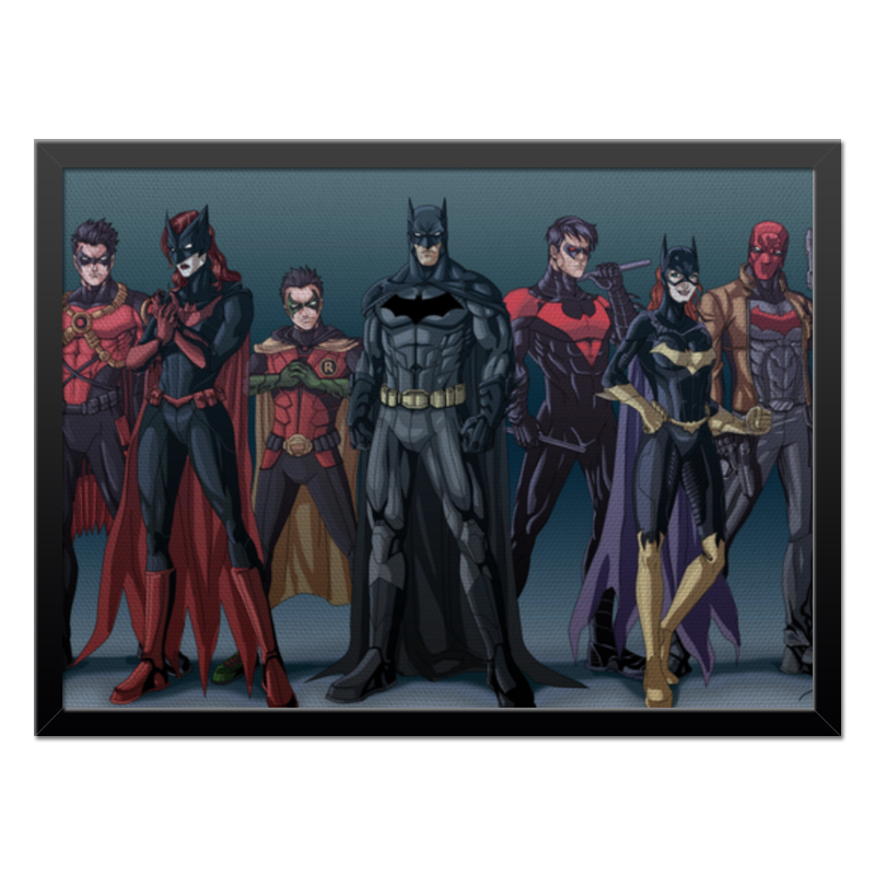 Холст 40x55 Printio Batman/бэтмен холст 40x55 printio лунная соната