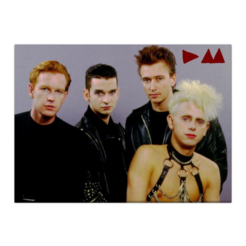 Холст 40x55 Printio Depeche mode