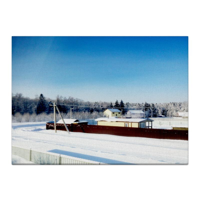 Холст 40x55 Printio Зима. мороз. солнце. холст 30x60 printio зима мороз солнце